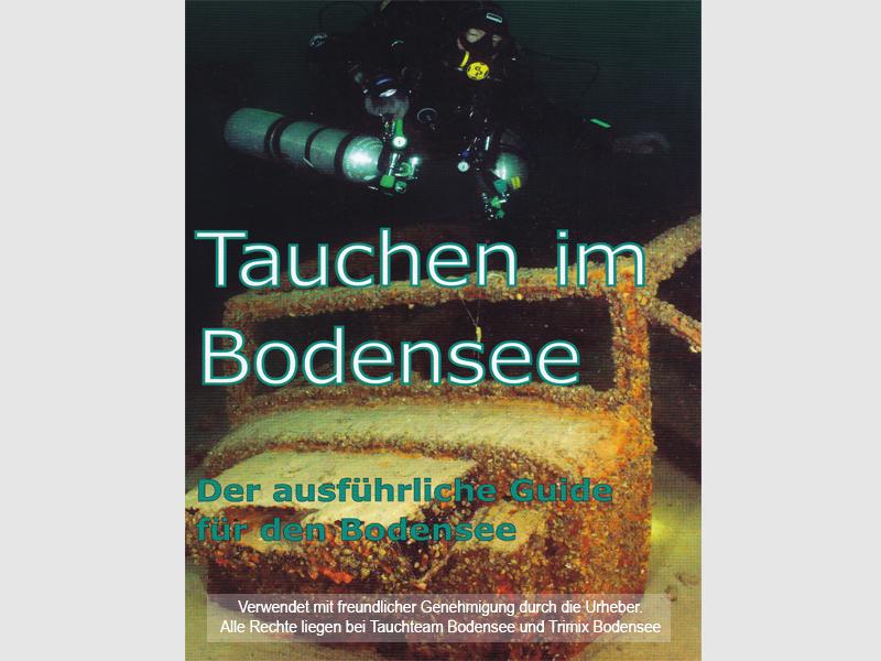 Tauchguide Bodensee Foto Entwurf Buchtipp